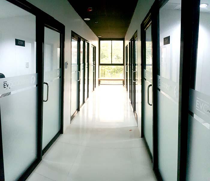 EV學校,教室,環境