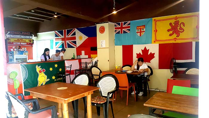Celever English Langage, 校內餐廳