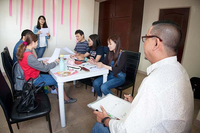 Winning 宿務, 團體課, 英文團體課 -WES