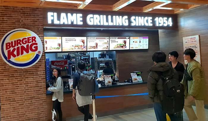 漢堡王, burger king, 宿霧機場出境