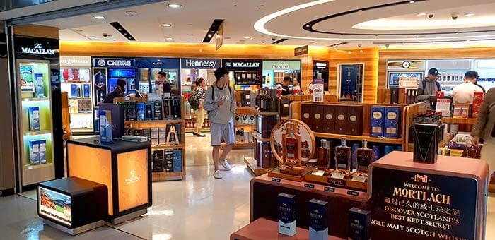 入境台灣機場, 免稅店有哪些可以購買