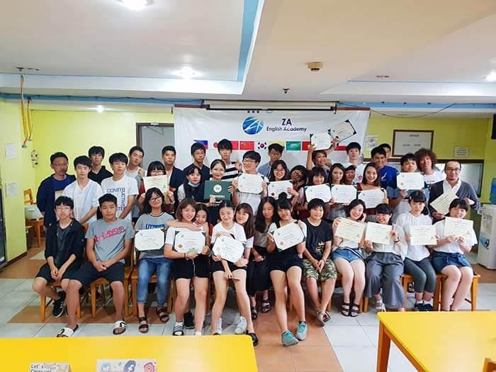 UV畢業典禮, 海外遊學畢業典禮