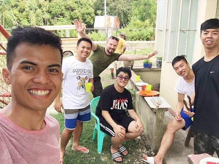 結識外國朋友、菲律賓老師
