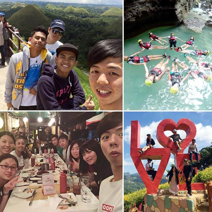 菲律賓遊學, 旅遊, 認識國外朋友