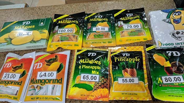 7D dried Mangoes, 7D芒果乾, 7D鳳梨乾, 芒果軟糖