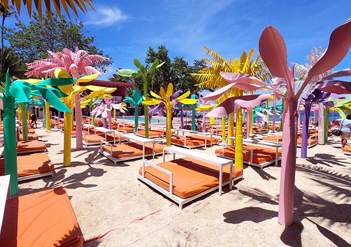 Happy Beach充氣水上樂園, 粉紅沙灘主題樂園