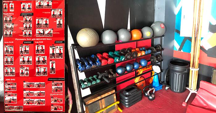 拳擊暖身, ALA 拳擊暖身, 健身設備, 暖身運動
