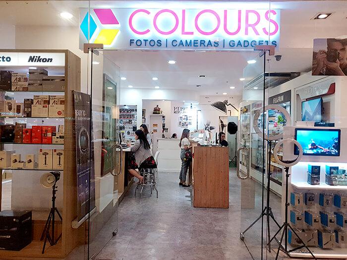 Colours, 洗照片館, 阿雅拉百貨
