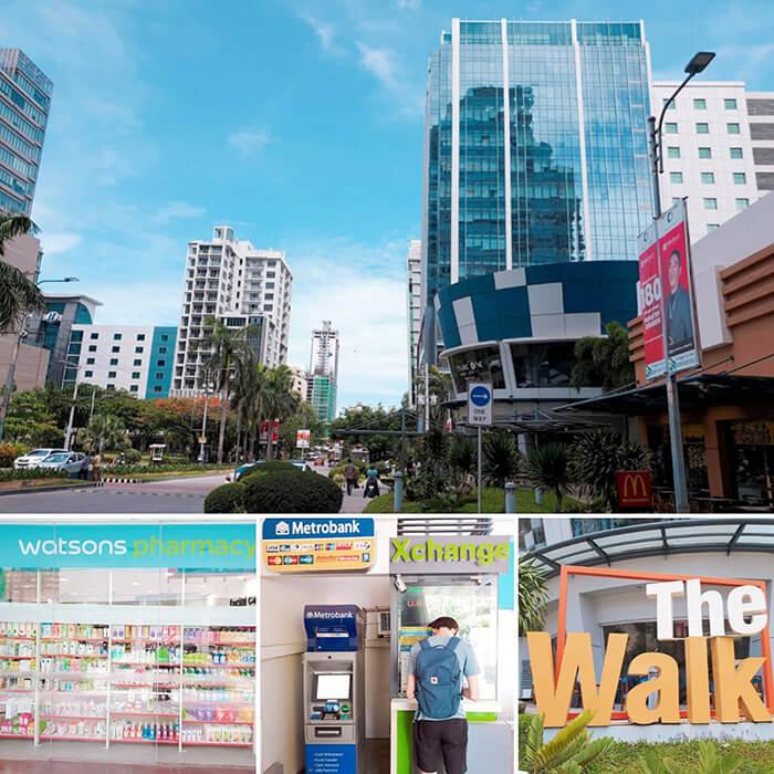 The walk, 換錢, 換匯, 藥局, 藥房, 屈臣氏Watsons
