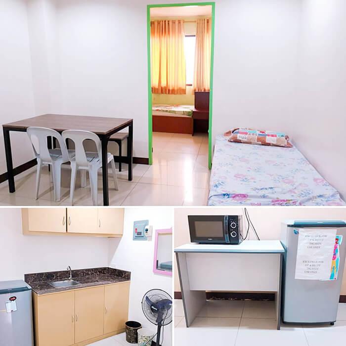 Nils校外宿舍, AVC宿舍, 三人房, 房間樣式