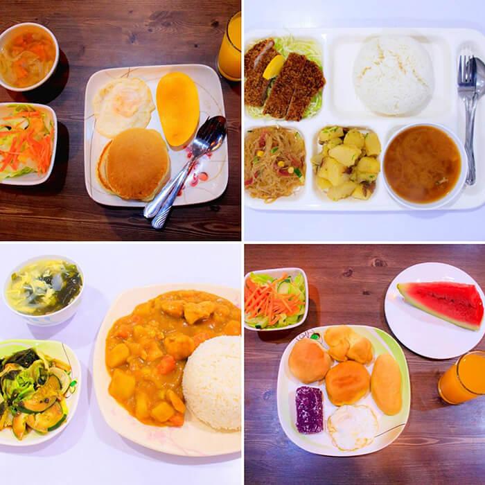 Nils餐食, 伙食, 宿務語言學校Nils食物