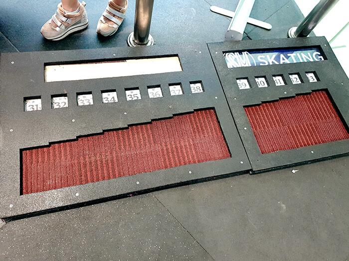 SM溜冰場, SM Skating, 測量腳的尺寸