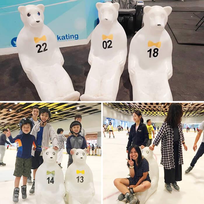 北極冰熊, 防止跌倒, 租借費用, 100peso