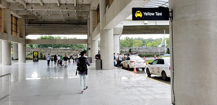 宿務機場, 黃色計程車, 白色計程車, 計程車黃白差異