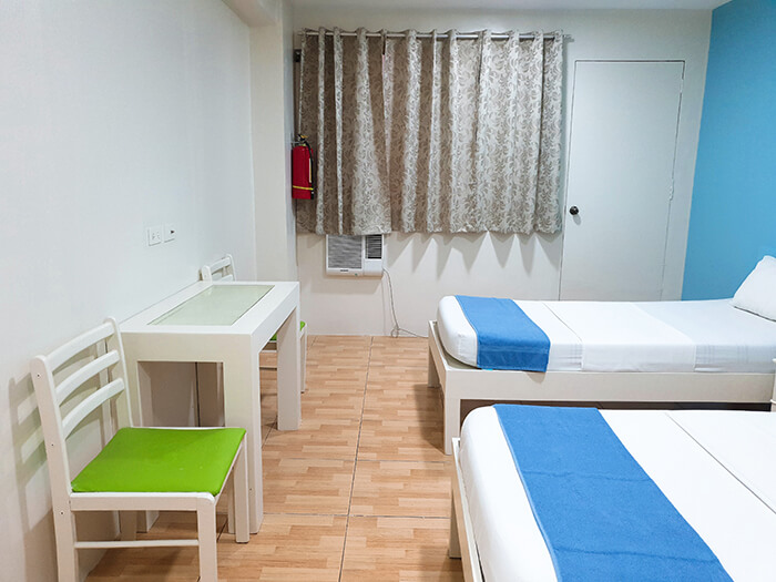 學校住宿, 學校房間, 兩人房, 雙人房, 學校環境