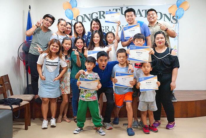 WYL畢業典禮, 親子遊學菲律賓, 全家遊學, 家庭遊學, 海外留學