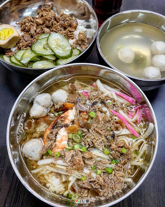 東港割稻飯, 鮪魚飯, 魚丸湯