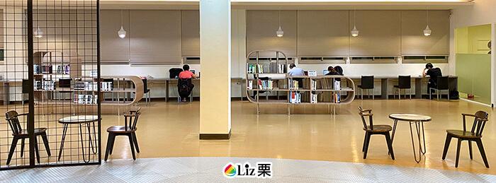 閱覽區,三重讀書環境