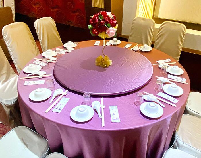 圍爐團聚,喜宴桌
