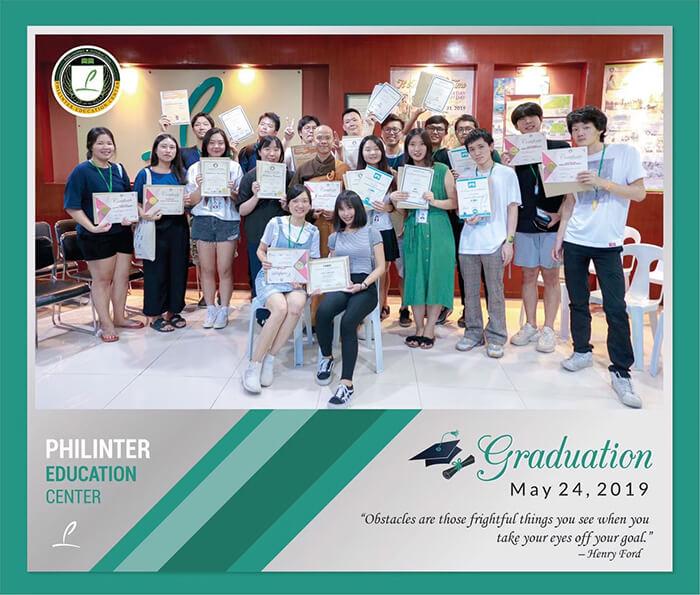 Philinter Education Center, graduation
