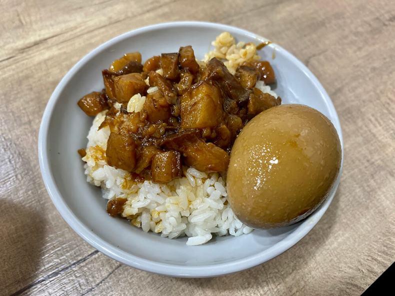 魯肉飯,滷蛋