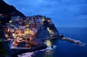 Cinque Terre - night view