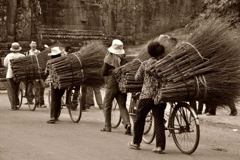Daily lives of people of Cambodia