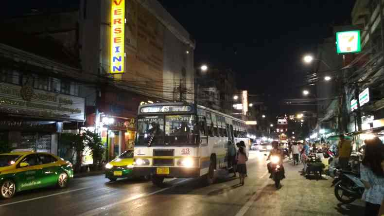 Khao San Road To Don Muang Airport Bus A4 Bus Stop