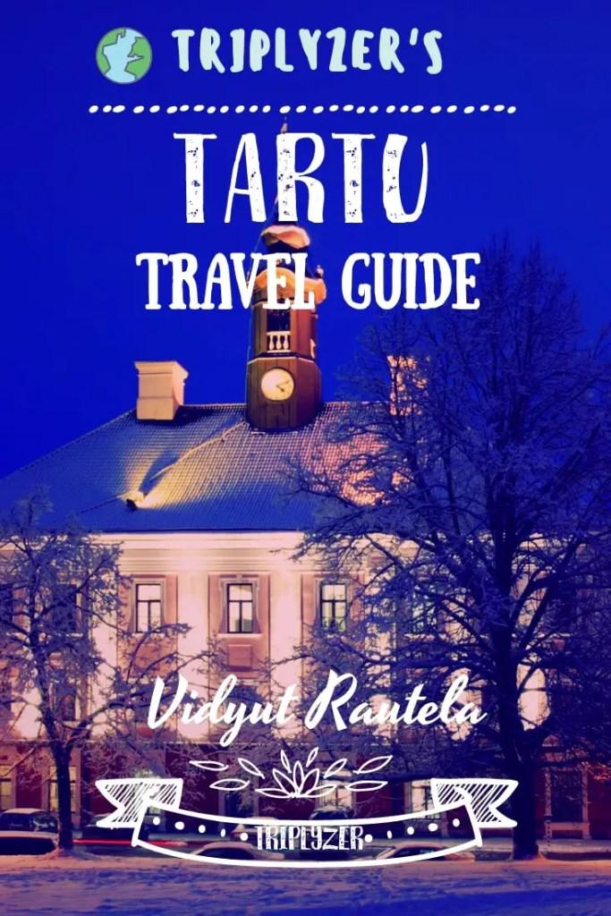 Tartu Travel Guide Pinterest