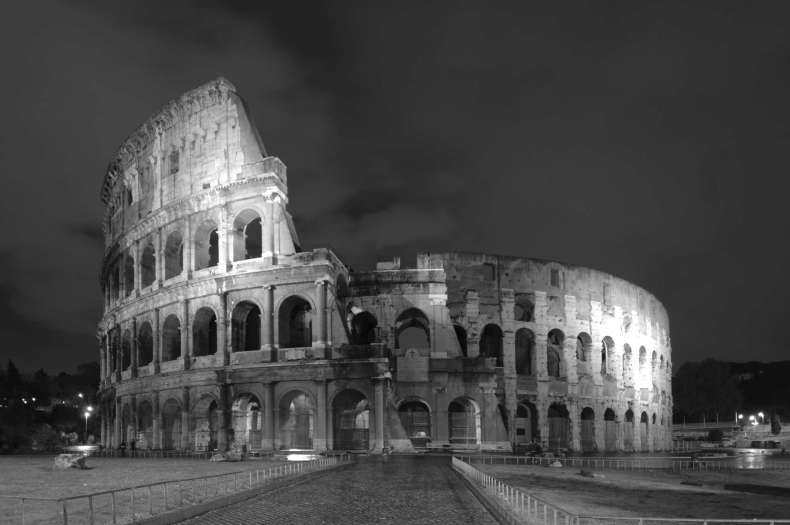 The remain of Colloseum, Rome