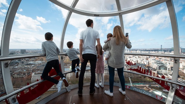 explore london eye with kids