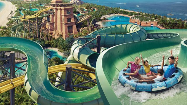 dubai water park with your family