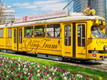 Vienna Ring Tram Ride