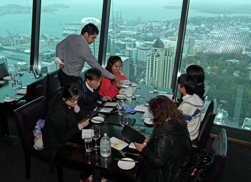 Dine in at Orbit Restaurant New Zealand