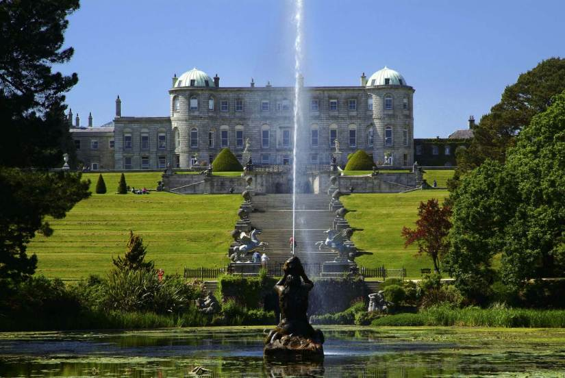 exquisite gardens of the Powerscourt Estate