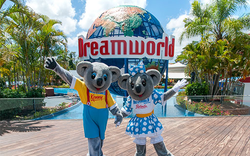 dreamworld in brisbane