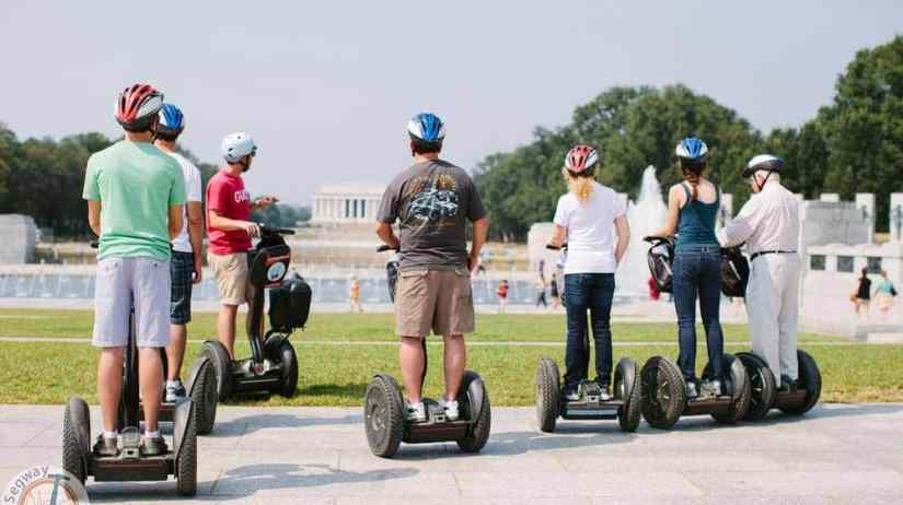 segway tour around the National Mall