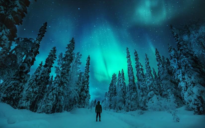 Aurora Borealis in Lapland