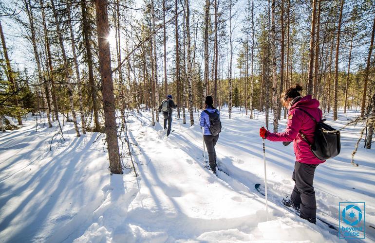 Skiing in Rovaniemi