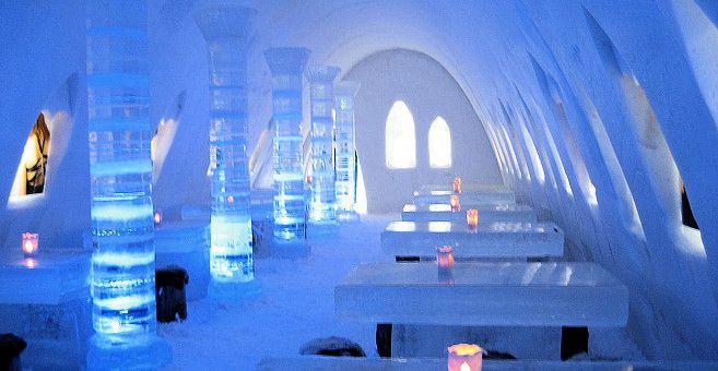 SnowCastle in Kemi Lapland