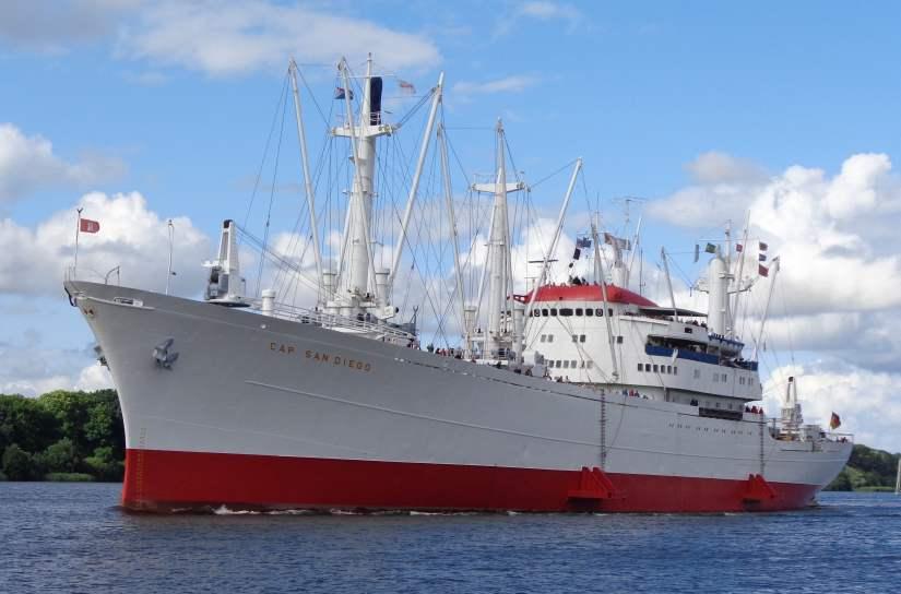 Museum Ship Cap San Diego