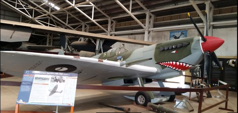 aircraft airp71 at Darwin Aviation Museum