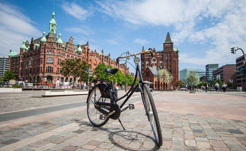 Bike Tour around Hamburg