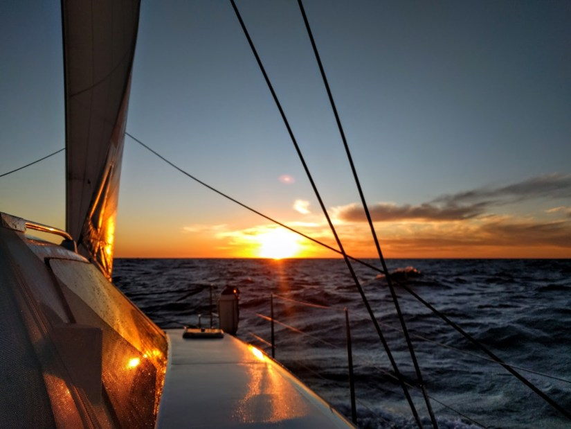 sunset in adelaide