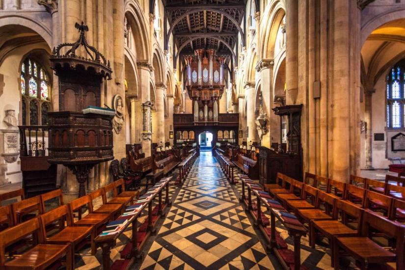 interior of Christ Church Oxford