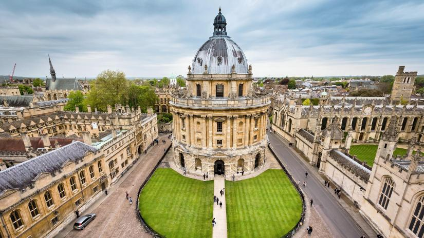 Bodleian Library in Oxford University