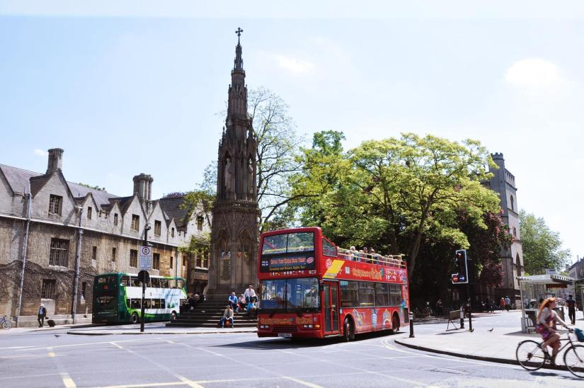 Oxford Hop-On Hop-Off City Sightseeing Bus Tour