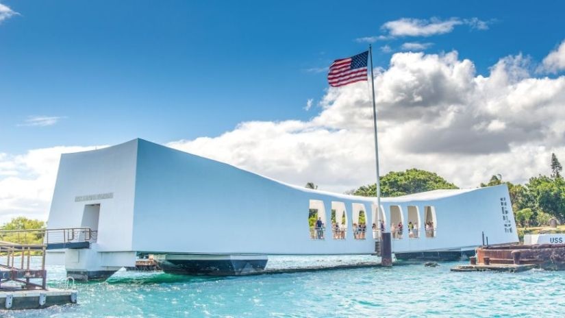 USS Arizona Memorial in Pearl Habor