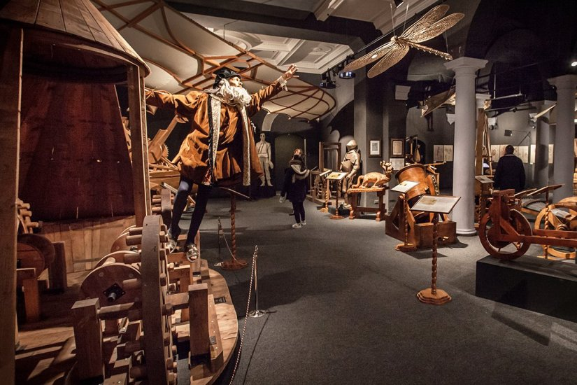 Leonardo Interactive Museum in Florence
