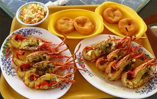 crayfish-anguilla-johnny-cake